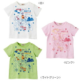 【夏物アウトレットセール】ホットビスケッツ(HOT BISCUITS) HOT-Bキャンピング☆半袖Tシャツ(100、110)