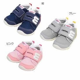 ミキハウス(MIKIHOUSE) mロゴ スポーティセカンドベビーシューズ(子供靴)