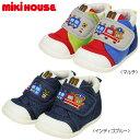 【限定セール】ミキハウス(MIKIHOUSE) プッチートレイン☆セカンドベビーシューズ(子供靴)