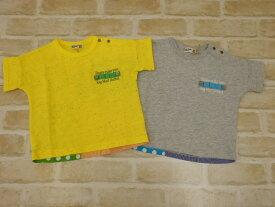 【2019サマーセール】ラグマート(RAG MART)ボックスシルエットパッチワーク切替Tシャツ(100cm、110cm、120cm、130cm)