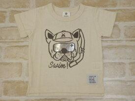 【2019サマーセール】SiShuNon(SKAPE)スイムドッグTシャツ(90〜130cm)