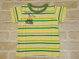 【2019サマーセール】SiShuNon(SKAPE)ポップボーダーTシャツ(90〜130cm)