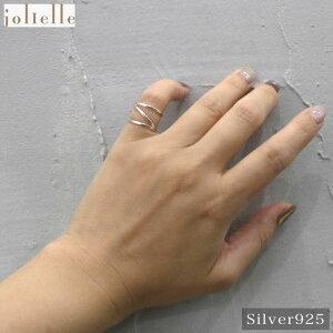 シルバー925 ラインデザインピンキーリング シンプル アクセサリー 指輪 925 ギフト レディース プレゼント プチプラ