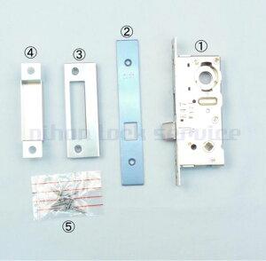 MIWA LA・MA 空錠ケース BS38 DT33〜41 室内用空錠 ST色(美和ロック/錠ケース 交換 取替/鍵のない室内ドア用/LA・MA)