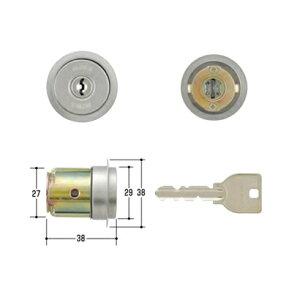 MIWA U9シリンダー DG用 ST色 (MCY-218/美和ロック/鍵 交換 取替/DG)