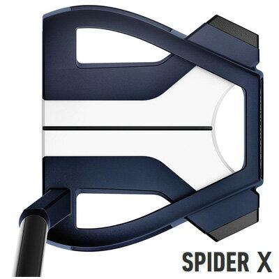 【エントリーで当店全品P10倍】《今日だす》テーラーメイド 2019 スパイダー X ブルー×ホワイト スモールスラント パター