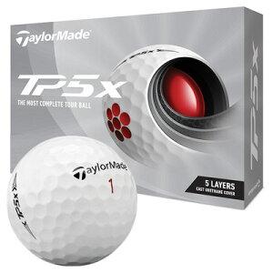 《今日だす》テーラーメイド 2021 TP5x ボール (ホワイト) [1ダース]