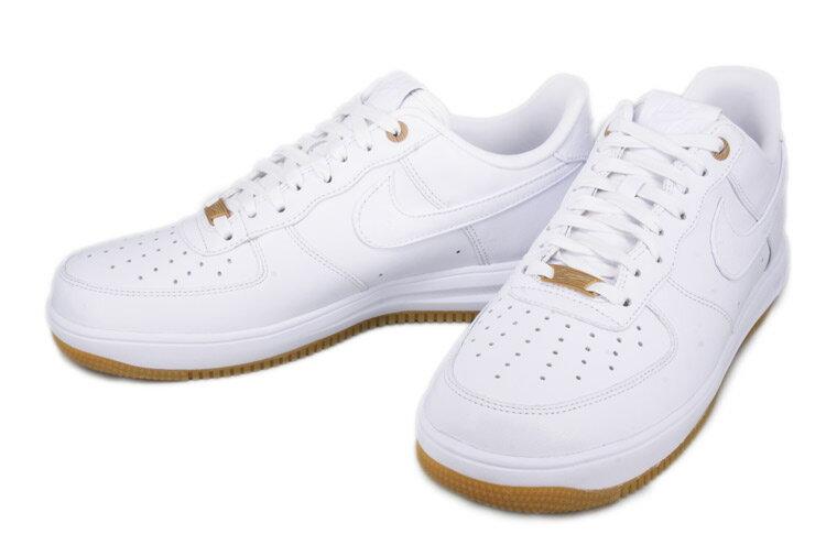 【送料無料】【海外取寄せ☆レア商品】2015 Nike ナイキ Lunar ルナ Force フォース 1 PRM QS White ナイキ メンズ 男性用 ※代引き不可 ナイキ