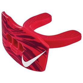【★スーパーセール中★ 12/11深夜2時迄】ナイキ NIKE 赤 レッド 白色 ホワイト 【 RED NIKE GAMEDAY LIP PROTECTOR MOUTHGUARD UNIVERSITY WHITE 】 スポーツ アウトドア アメリカンフットボール