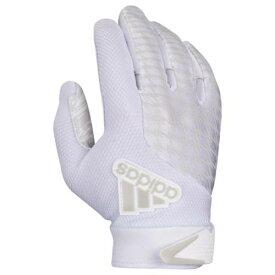 アディダス ADIDAS アディダス レシーバー グローブ 手袋 白色 ホワイト 2.0 メンズ 【 ADIDAS ADIFAST RECEIVER GLOVES WHITE 】