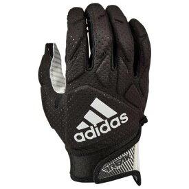 アディダス ADIDAS アディダス パッド レシーバー グローブ 手袋 黒色 ブラック 白色 ホワイト 5.0 メンズ 【 PADDED ADIDAS FREAK RECEIVER GLOVES BLACK WHITE 】