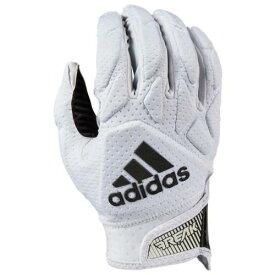 アディダス ADIDAS アディダス パッド レシーバー グローブ 手袋 白色 ホワイト 黒色 ブラック 5.0 メンズ 【 PADDED ADIDAS FREAK RECEIVER GLOVES WHITE BLACK 】