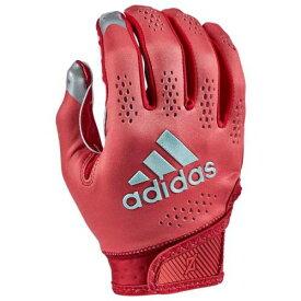 アディダス ADIDAS アディダス アディゼロ ターボ レシーバー グローブ 手袋 赤 レッド 11.0 メンズ 【 RED ADIDAS ADIZERO TURBO RECEIVER GLOVES 】