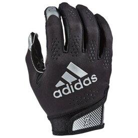 アディダス ADIDAS アディダス アディゼロ ターボ レシーバー グローブ 手袋 黒色 ブラック 11.0 メンズ 【 ADIDAS ADIZERO TURBO RECEIVER GLOVES BLACK 】