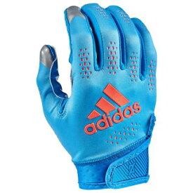 アディダス ADIDAS アディダス アディゼロ ターボ レシーバー グローブ 手袋 青色 ブルー 橙 オレンジ 11.0 メンズ 【 ORANGE ADIDAS ADIZERO TURBO RECEIVER GLOVES BLUE 】