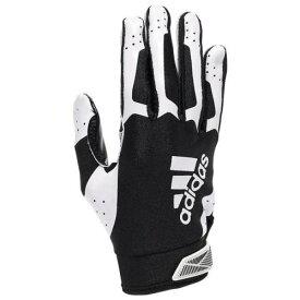 アディダス ADIDAS アディダス レシーバー グローブ 手袋 黒色 ブラック 白色 ホワイト 3.0 【 ADIDAS ADIFAST RECEIVER GLOVES BLACK WHITE 】