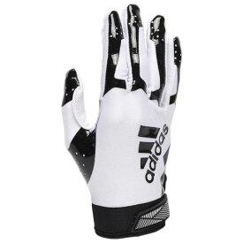 アディダス ADIDAS アディダス レシーバー グローブ 手袋 白色 ホワイト 黒色 ブラック 3.0 【 ADIDAS ADIFAST RECEIVER GLOVES WHITE BLACK 】