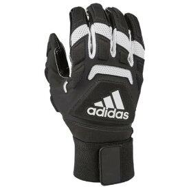 アディダス ADIDAS アディダス マックス グローブ 手袋 黒色 ブラック 白色 ホワイト 2.0 メンズ 【 ADIDAS FREAK MAX LINEMAN GLOVES BLACK WHITE 】
