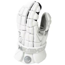 マーベリックラクロス MAVERIK LACROSSE ラクロス グローブ グラブ グローブ 手袋 白色 ホワイト メンズ 【 LACROSSE MAVERIK M4 GLOVE WHITE 】