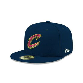 NEW ERA NBA COLLECTION ニューエラ コレクション クリーブランド キャバリアーズ チーム 青色 ブルー 【 TEAM NBA COLLECTION KIDS COLOR 59FIFTY FITTED BLUE 】