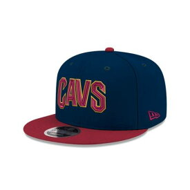 NEW ERA NBA COLLECTION ニューエラ コレクション クリーブランド キャバリアーズ チーム スナップバック バッグ 青色 ブルー 【 TEAM SNAPBACK NBA COLLECTION KIDS COLOR 9FIFTY BLUE 】
