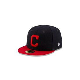 NEW ERA MLB COLLECTION ニューエラ コレクション クリーブランド インディアンス オーセンティック 青色 ブルー 【 MLB COLLECTION MY FIRST AUTHENTIC KIDS 59FIFTY FITTED BLUE 】
