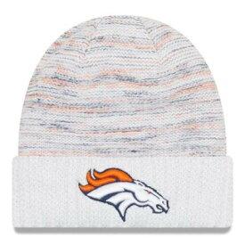 ニューエラ NEW ERA 白色 ホワイト デンバー ブロンコス ラッシュ ニット ニューエラ 【 RUSH WHITE 2017 COLOR KICKOFF KNIT HAT DEN 】 バッグ キャップ 帽子 メンズキャップ 帽子