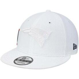 ニューエラ NEW ERA 白色 ホワイト ペイトリオッツ ラッシュ ニューエラ ニューイングランド 【 RUSH WHITE KICKOFF COLOR 9FIFTY ADJUSTABLE HAT PAT 】 バッグ キャップ 帽子 メンズキャップ 帽子