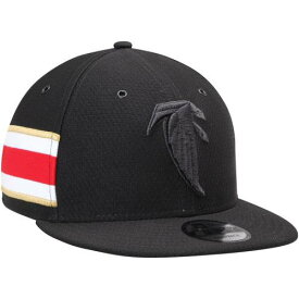 ニューエラ NEW ERA 黒色 ブラック アトランタ ファルコンズ リベンジ ラッシュ ニューエラ 【 RUSH BLACK KICKOFF REVERSE COLOR 9FIFTY ADJUSTABLE HAT FAL 】 バッグ キャップ 帽子 メンズキャップ 帽子