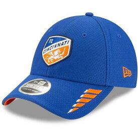 ニューエラ NEW ERA 青色 ブルー シンシナティ ラッシュ ニューエラ 【 RUSH BLUE 9FORTY ADJUSTABLE HAT FCC 】 バッグ キャップ 帽子 メンズキャップ 帽子