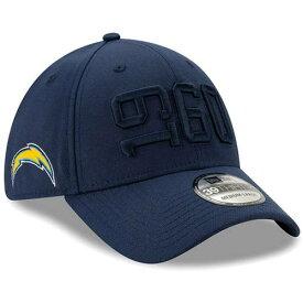 ニューエラ NEW ERA 紺色 ネイビー チャージャーズ サイドライン ラッシュ ニューエラ ロサンゼルス 【 NFL RUSH NAVY 2019 SIDELINE COLOR 39THIRTY FLEX HAT CHG 】 バッグ キャップ 帽子 メンズキャッ
