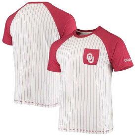 コロシアム COLOSSEUM 白色 ホワイト オクラホマ スーナーズ クラブ ラグラン Tシャツ メンズ 【 COLOSSEUM WHITE CLUB A DUB RAGLAN TSHIRT OKL 】