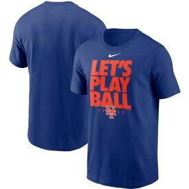 ナイキ NIKE メッツ Tシャツ 青色 ブルー ニューヨーク LET'S 【 NIKE ROYAL PLAY BALL TSHIRT MET BLUE 】 メンズファッション トップス Tシャツ カットソー