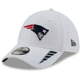ニューエラ NEW ERA 白色 ホワイト ペイトリオッツ ラッシュ ニューエラ ニューイングランド 【 RUSH WHITE 39THIRTY FLEX HAT PAT 】 バッグ キャップ 帽子 メンズキャップ 帽子