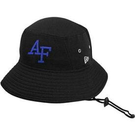 ニューエラ NEW ERA 黒色 ブラック エア ファルコンズ ロゴ ニューエラ エアフォース バケットハット 【 AIR BLACK PRIMARY LOGO NOVELTY AFA 】 バッグ キャップ 帽子 メンズキャップ 帽子