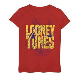 LICENSED CHARACTER キャラクター グラフィック Tシャツ 赤 レッド 【 RED LICENSED CHARACTER LOONEY TUNES POP LINEUP GRAPHIC TEE 】 キッズ ベビー マタニティ トップス Tシャツ