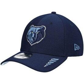 ニューエラ NEW ERA 紺色 ネイビー メンフィス グリズリーズ ラッシュ ニューエラ 【 RUSH NAVY 39THIRTY FLEX HAT GRZ 】 バッグ キャップ 帽子 メンズキャップ 帽子