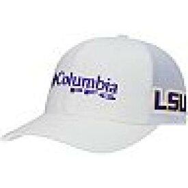 UNBRANDED 白 ホワイト ルイジアナステイト タイガース スナップバック バッグ 【 WHITE SNAPBACK UNBRANDED COLUMBIA LSU TIGERS PFG HAT 】 バッグ キャップ 帽子 メンズキャップ 帽子