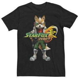 フォックス ロゴ Tシャツ 黒 ブラック 【 BLACK STAR FOX ZERO LOGO TEE 】 メンズファッション トップス Tシャツ カットソー