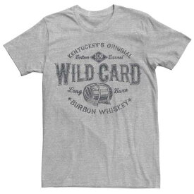 LICENSED CHARACTER キャラクター ワイルド グラフィック Tシャツ ヘザー メンズ 【 HEATHER LICENSED CHARACTER WILD CARD WHISKEY GRAPHIC TEE ATHLETIC 】