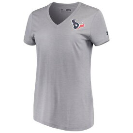UNBRANDED 灰色 グレー グレイ ヒューストン テキサンズ オーセンティック パフォーマンス Vネック Tシャツ 【 GRAY UNBRANDED UNDER ARMOUR HEATHERED COMBINE AUTHENTIC NOVELTY PERFORMANCE VNECK TSHIRT TXS GREY 】