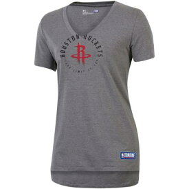 UNBRANDED 灰色 グレー グレイ ヒューストン ロケッツ オーセンティック Vネック Tシャツ 【 GRAY UNBRANDED UNDER ARMOUR HEATHERED COMBINE AUTHENTIC YOUR LIMIT IS YOU VNECK TSHIRT RKT GREY 】 レディースファッシ