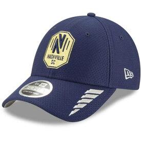 ニューエラ NEW ERA 紺色 ネイビー ナッシュビル ラッシュ ニューエラ サッカークラブ 【 RUSH NAVY 9FORTY ADJUSTABLE HAT MLS 】 バッグ キャップ 帽子 メンズキャップ 帽子