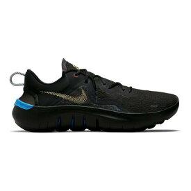 ナイキ ラン スニーカー 運動靴 黒色 ブラック 青色 ブルー スニーカー メンズ 【 NIKE FLEX RUN 2021 RUNNING SHOES BLACK MELON BLUE 】