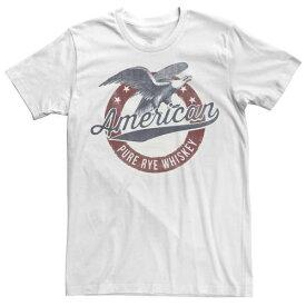 ピュア ロゴ Tシャツ 白色 ホワイト メンズ 【 SONOMA GOODS FOR LIFE AMERICAN PURE RYE WHISKEY EAGLE LOGO TEE WHITE 】