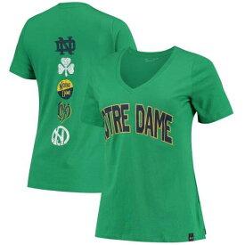 アンダーアーマー UNDER ARMOUR 緑 グリーン スパイン Vネック Tシャツ アンダーアーマー ノートルダム ファイティングアイリッシュ 【 GREEN KELLY SPINE PRINT VNECK TSHIRT NTD 】
