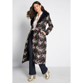 コレクティフ COLLECTIF アティテュード 紺色 ネイビー 【 COLLECTIF MODCLOTH X UPSCALE ATTITUDE COAT NAVY MULTI 】