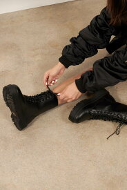 TOBI 【 New Rules Platform Boots 】 Black