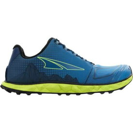 ALTRA 青色 ブルー ライム 4.5 メンズ 【 ALTRA SUPERIOR TRAIL RUNNING SHOE BLUE LIME 】