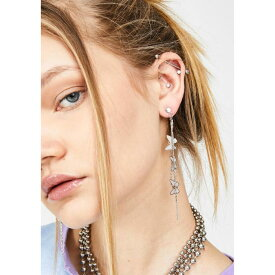 ANA ACCESSORIES 【 DROP LIKE A BUTTERFLY EARRINGS SILVER 】 ジュエリー アクセサリー レディースジュエリー 送料無料